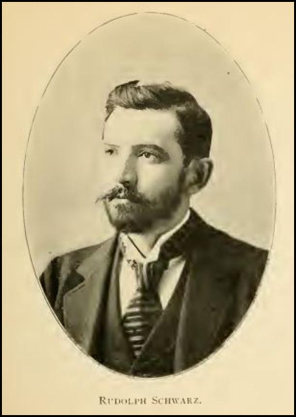 Sculptor Rudolph Schwarz ( - 1912)