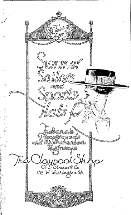Sunday Adverts: The Claypool Shop