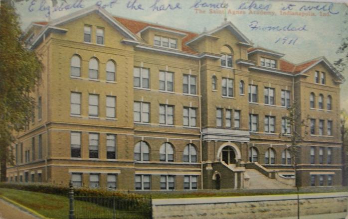 Penny Post: St. Agnes Academy to Saw Lumber