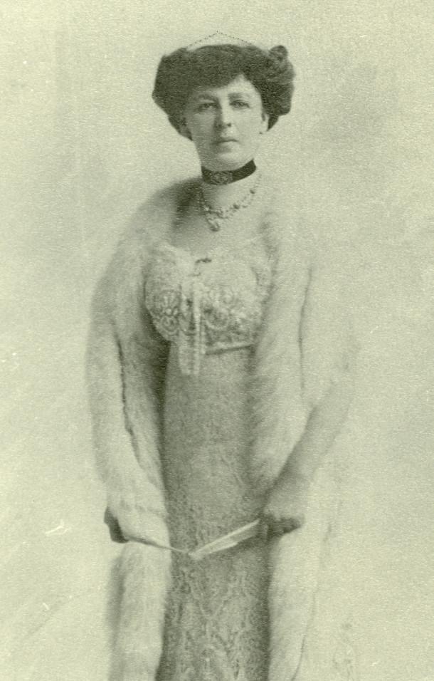 "Mary ""Hauté"" Booth Tarkington Jameson in evening attire (photo courtesy of Patricia Jameson Acheson Cochran)"