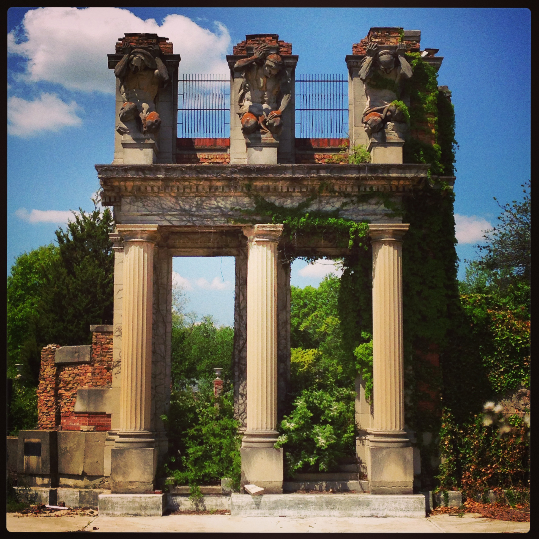Karl Bitter, Elmer Taflinger, and the Holliday Park Ruins