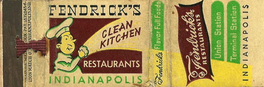 Sunday Adverts: Fendrick's Restaurant