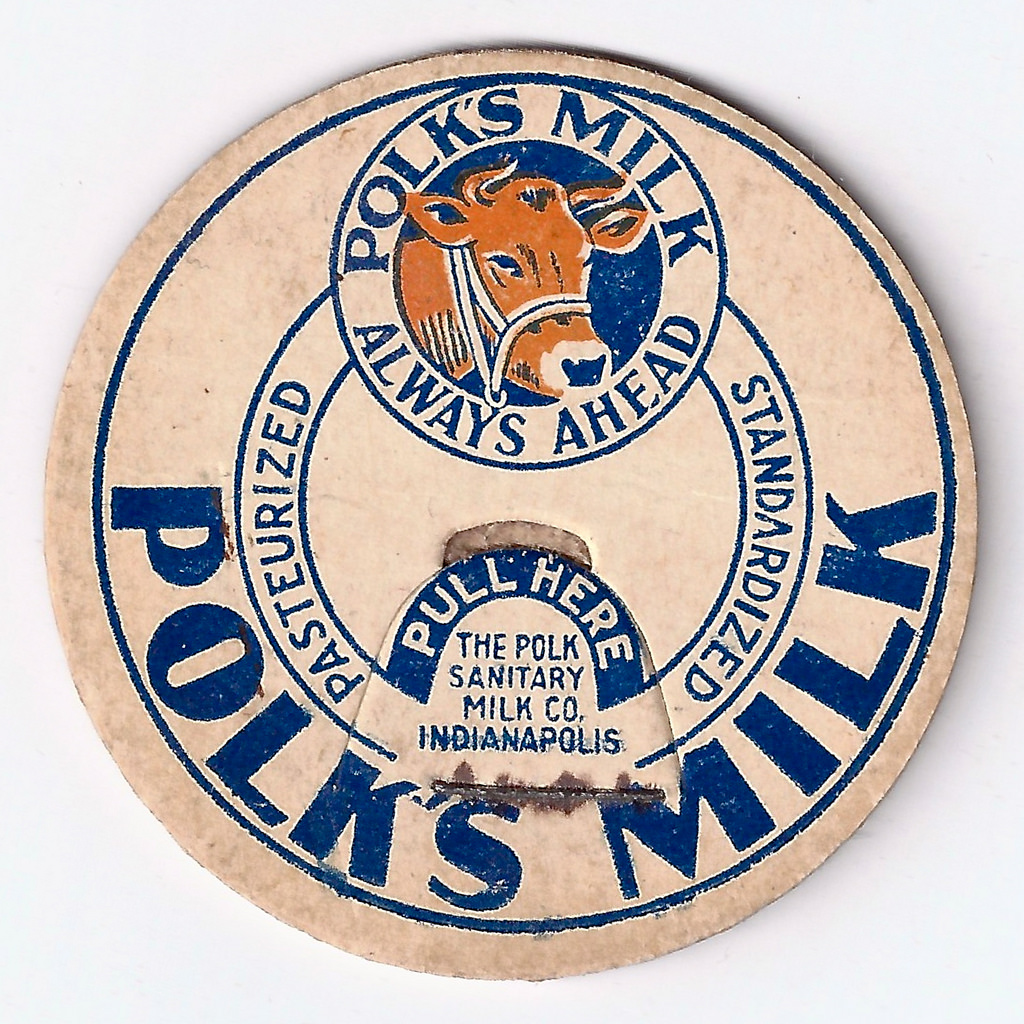 Sunday Adverts: Polk's Milk