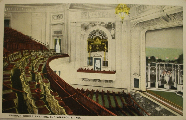 Penny Post: Circle Theatre, 1918