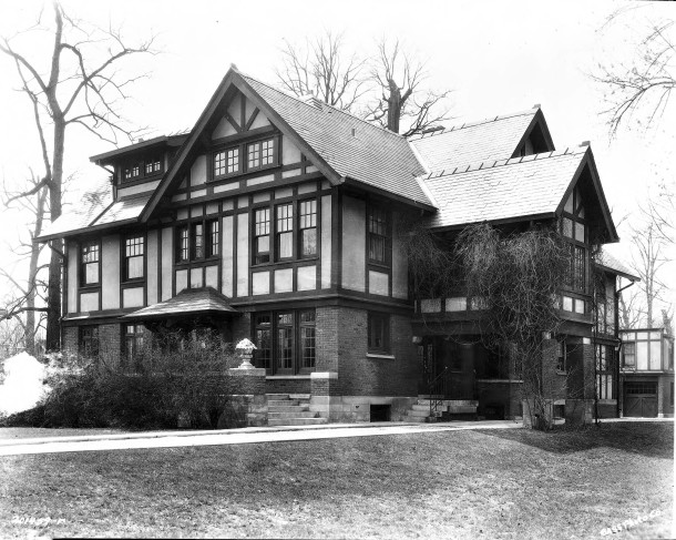 Booth Tarkington lived at 4270 North Meridian Street from 1923 until 1945