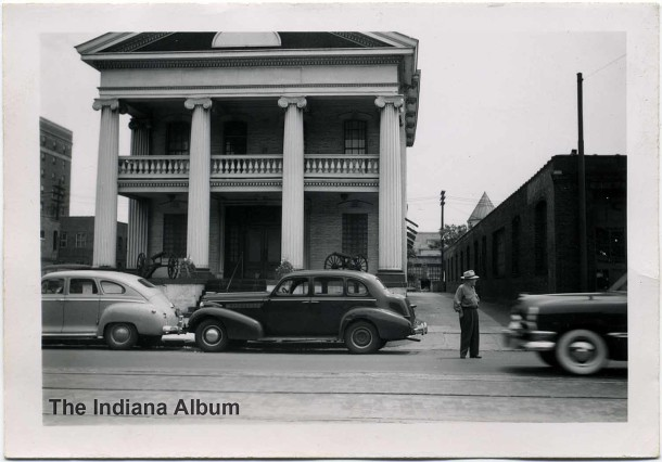 Circa 1940s snapshot of the Gatling Gun Club (The Indiana Album: Loaned by Joan Hostetler)