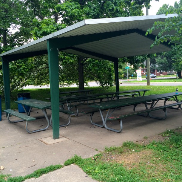 Tarkington Park is a great place for a picnic!