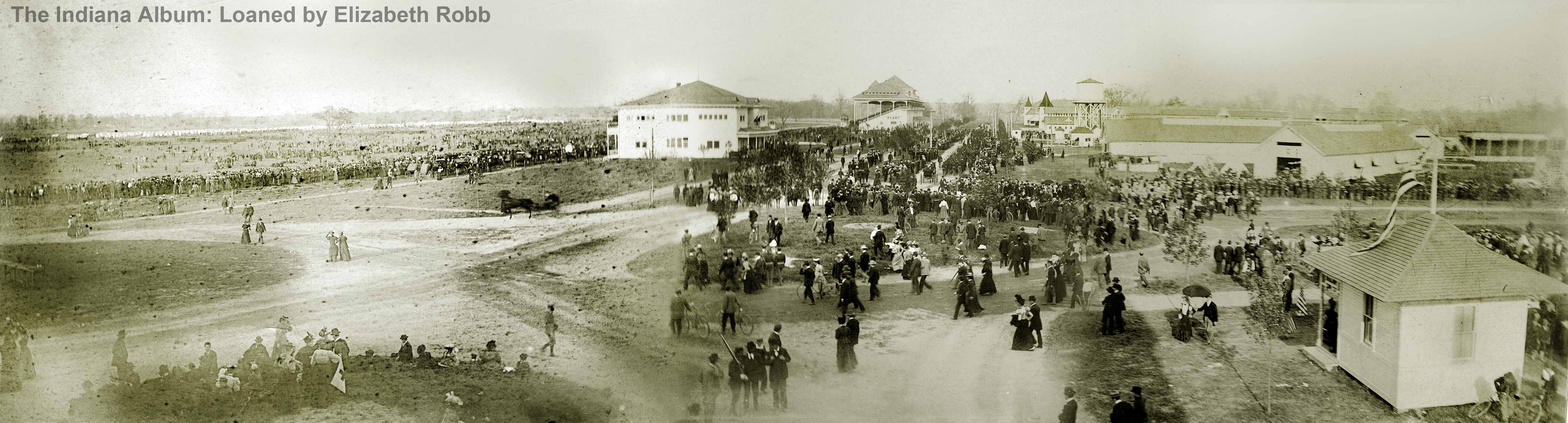 Indianapolis Then and Now: Indiana State Fair, 1202 E. 38th Street