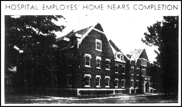 The newly constructed Administration Building from an August 17, 1939 Indianapolis News article.