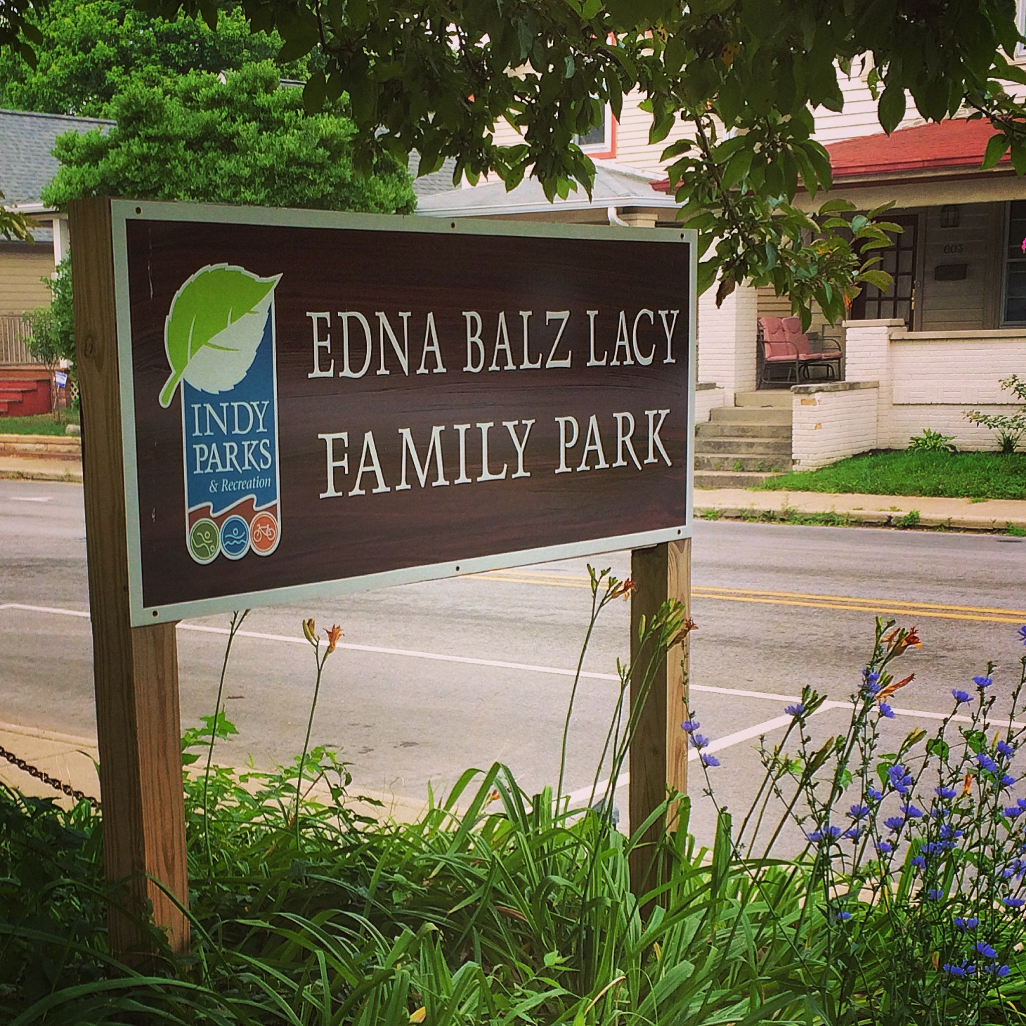 In The Park: Edna Balz Lacy Family Park