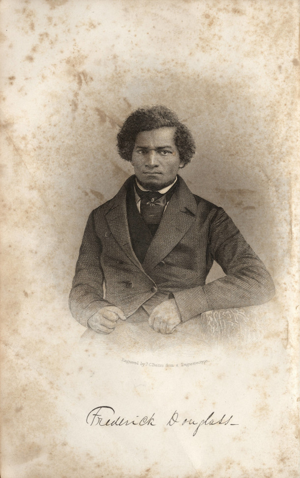 Douglass Park is named for Frederick Douglass, famous abolitionist. image: Indiana Historical Society