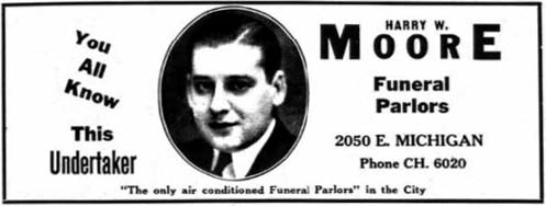 Ad from Polk's 1935 Indianapolis City Directory