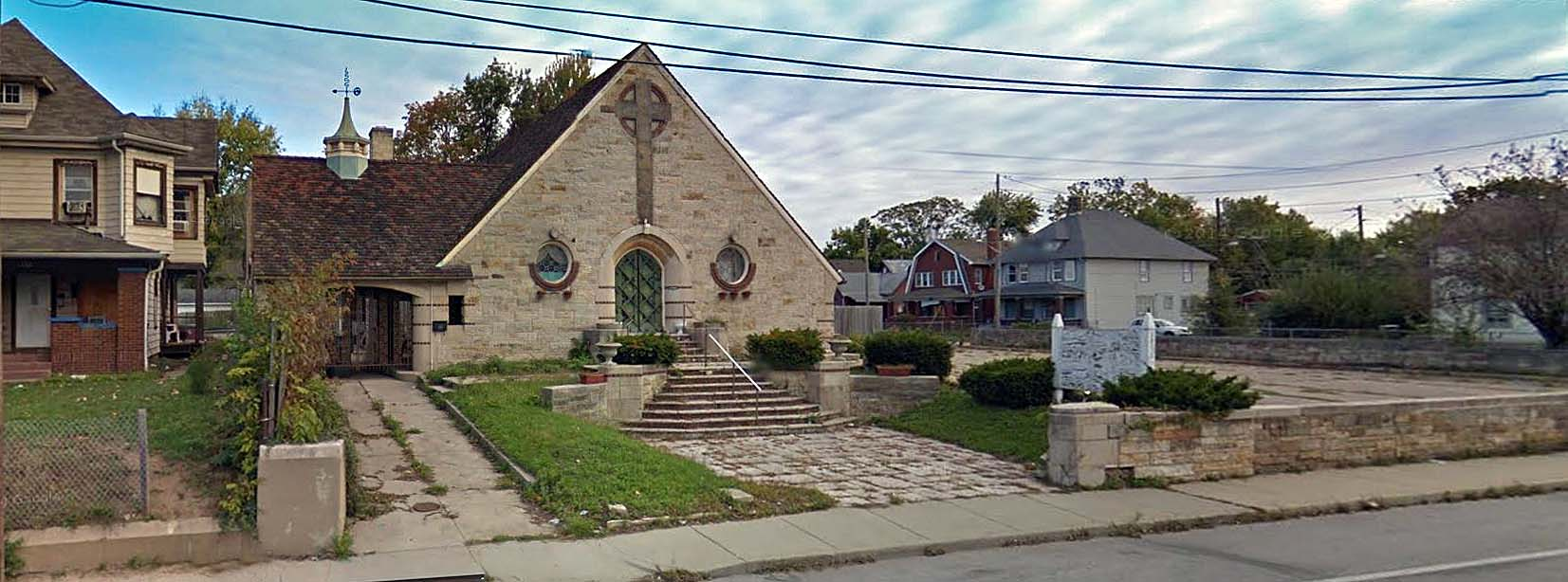 Indianapolis Then and Now REVISITED: Harry W. Moore Peace Chapel, 2050 E. Michigan Street