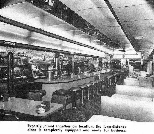 From Diner, Drive-In and Restaurant, A Magazine of Counter and Car Service, November 1954, p. 14