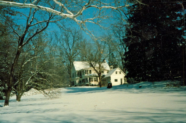 Haverway Farm in winter (photo on loan from the personal collection of Cynthia Hargadon)