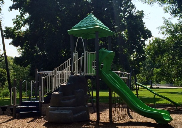 The playground at Spades Park