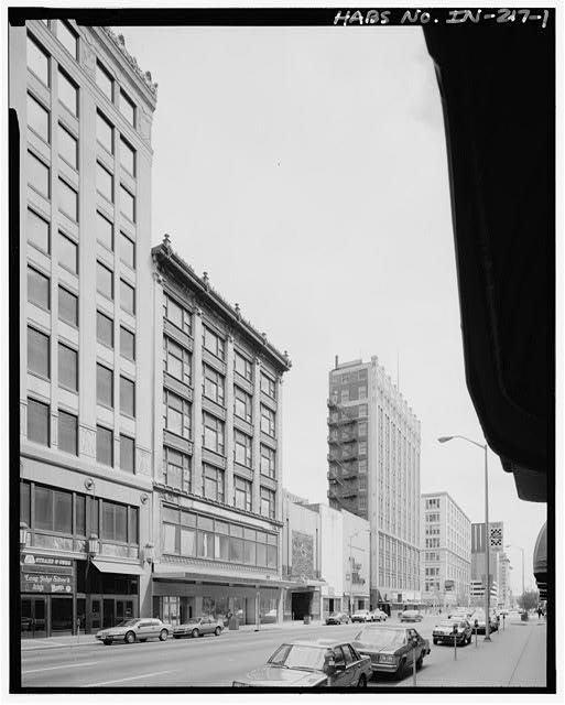 The Apollo building stands directly north of the Roosevelt building. You may also recognize the Rost Jewelry facade prior to a brief trip south (courtesy Library of Congress)