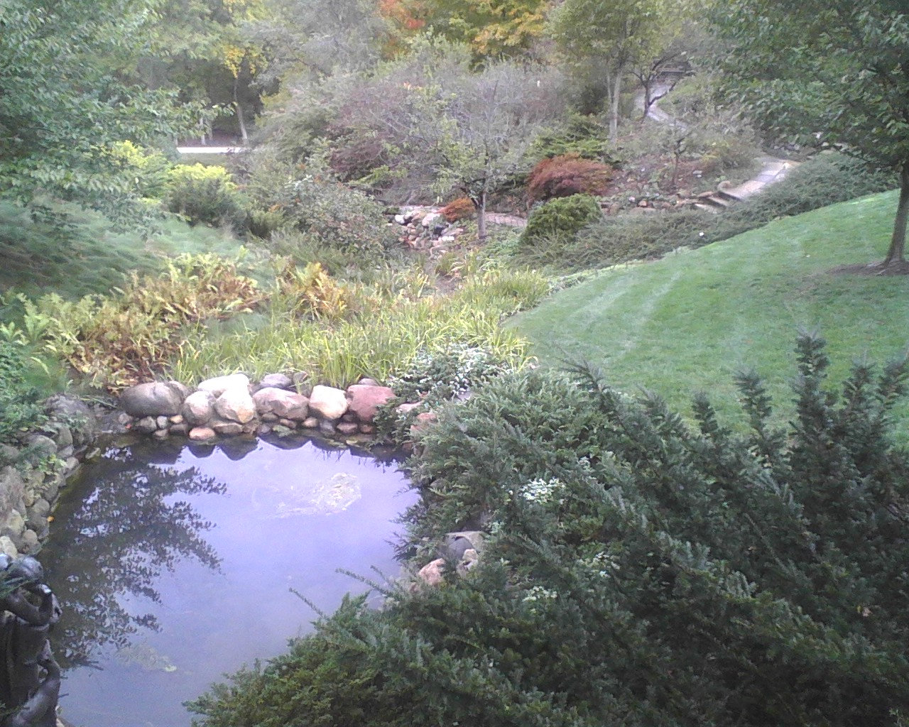 The not-so-creatively named Ravine Gardens on the IMA grounds (courtesy Jeff Kamm)