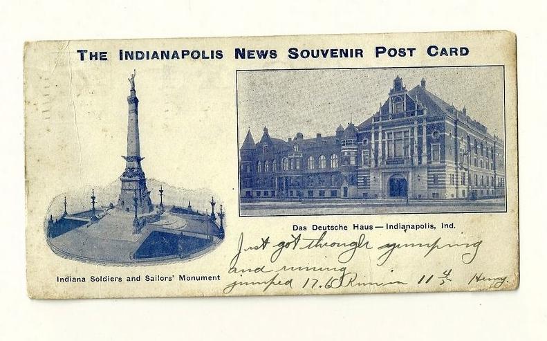 Penny Post: An Indianapolis Souvenir