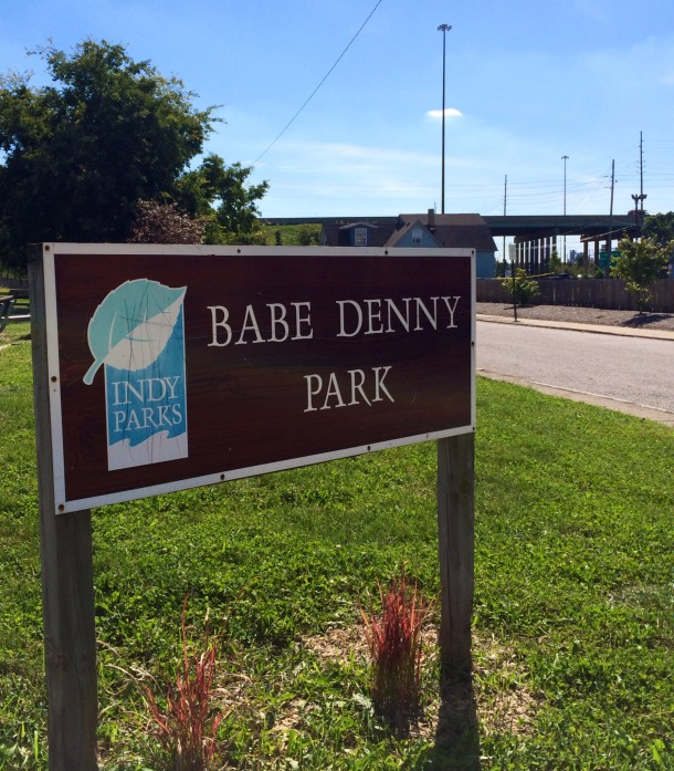 Welcome to Babe Denny Park on the city's Near Southside.
