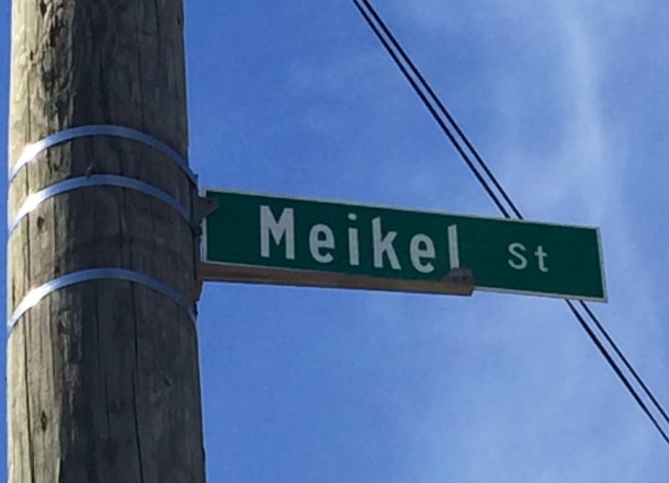The park was originally called Meikel Street Park