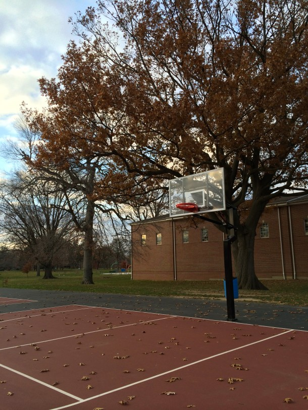 Christian Park has basketball and tennis courts, football fields, and baseball diamonds.
