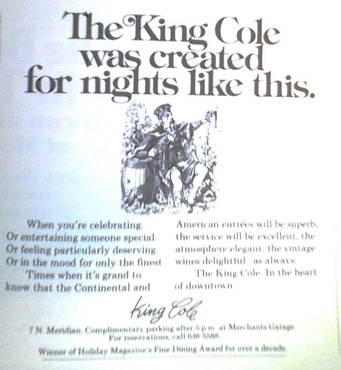 This ad appeared in a 1979 travel guide. It can be assumed the copy was written prior to an outbreak of Legionnaires disease (courtesy Indiana State Library)
