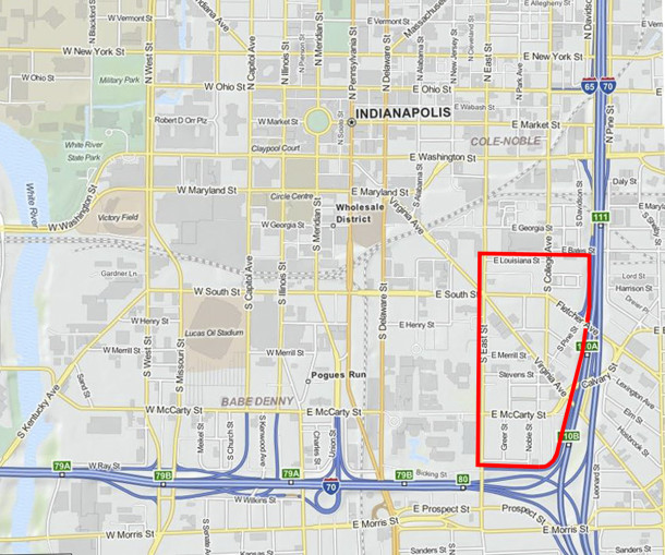 (map courtesy of mapquest.com)