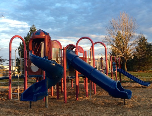 The playground at Willard Park was constructed in 1996