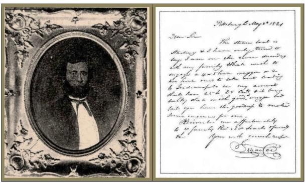 Coe letter portrait