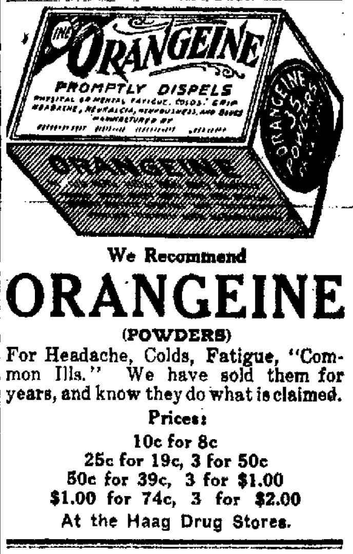 Sunday Adverts: Haag Drugs