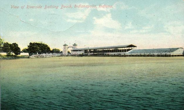 Penny Post: Riverside Bathing Beach