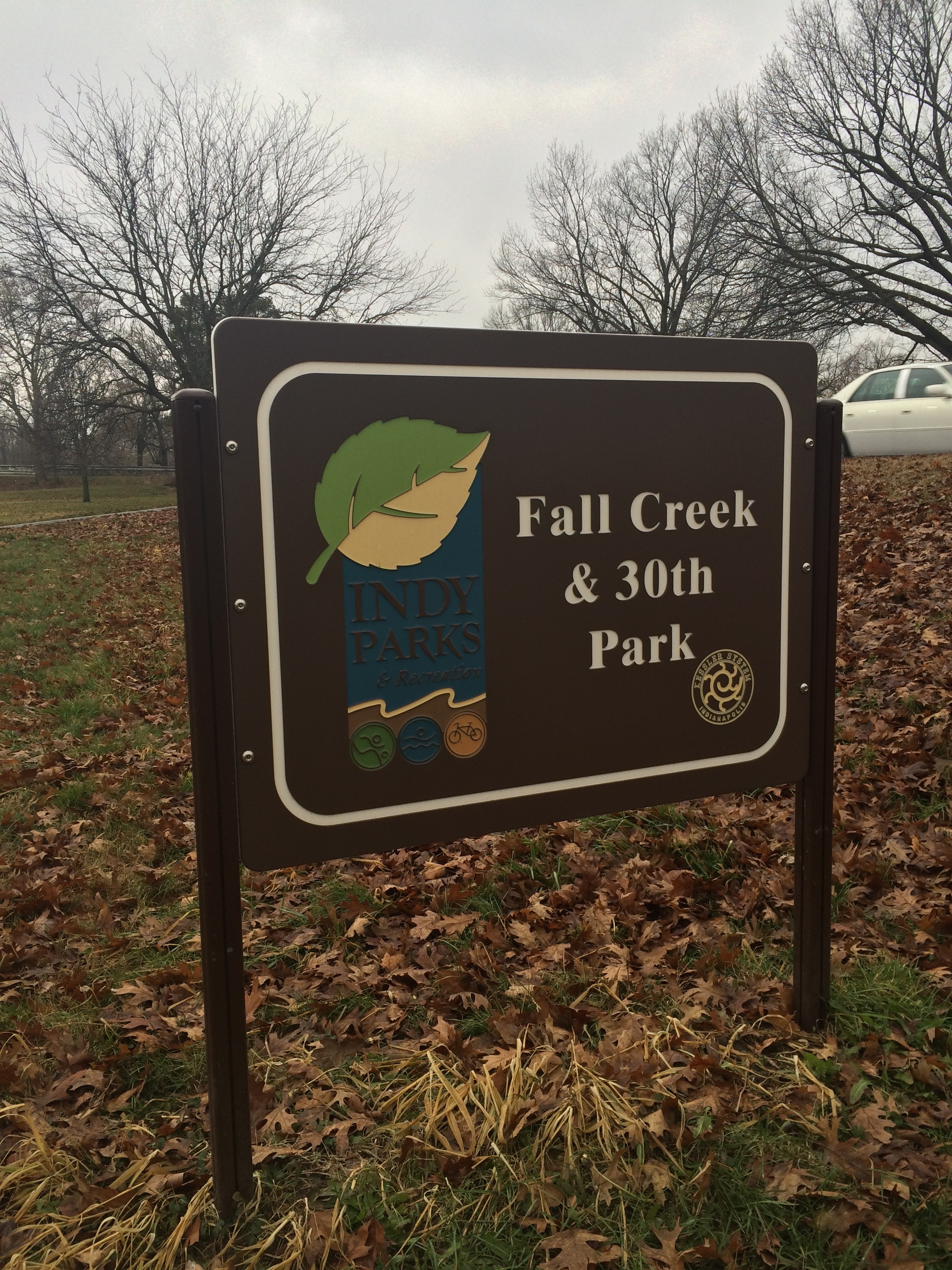 In the Park: Fall Creek & 30th Park