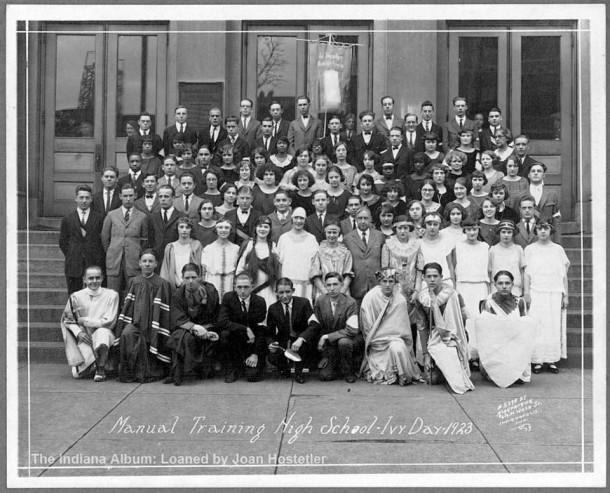 Meridian S Emmerich Manual HIgh School 1923 Ivy Day