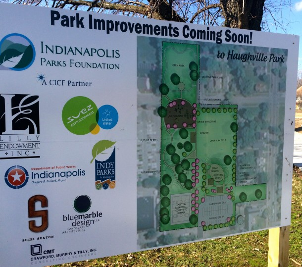 New improvements are coming to Haughville Park!