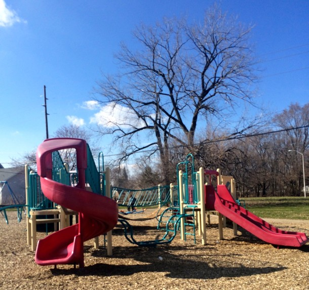 The playground at Haughville Park