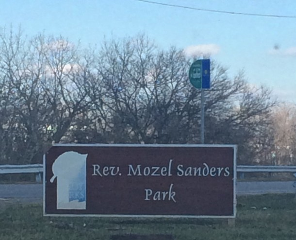 Welcome to Reverend Mozel Sanders Park!