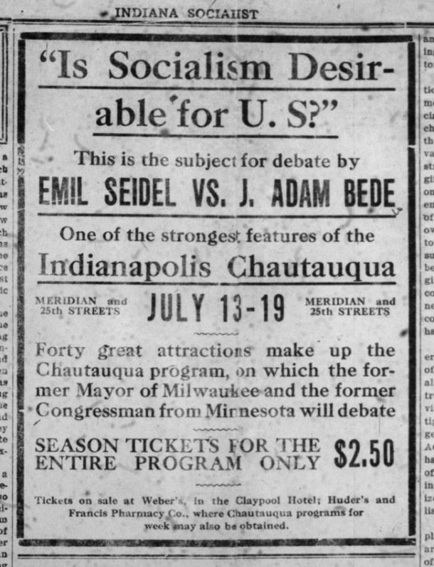 Indiana Socialist, July 5, 1913
