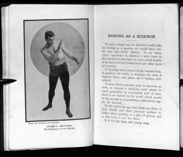 Boxing as a Science -- Corbett