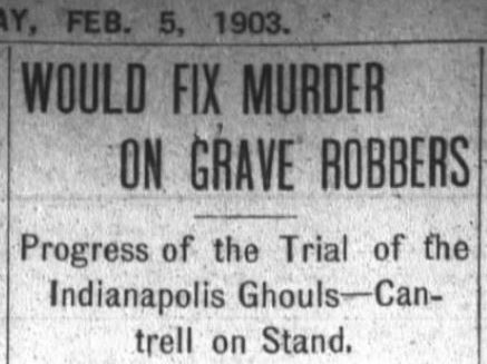 A Chinese Gravestone and a Murder Mystery at 207 Indiana Avenue