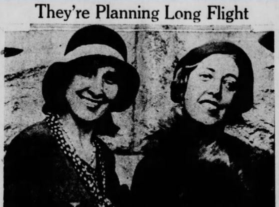 Women Take to the Skies in Jazz Age Indy