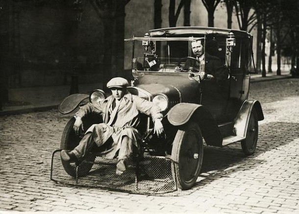 People Scooper for Cars, Paris, 1924