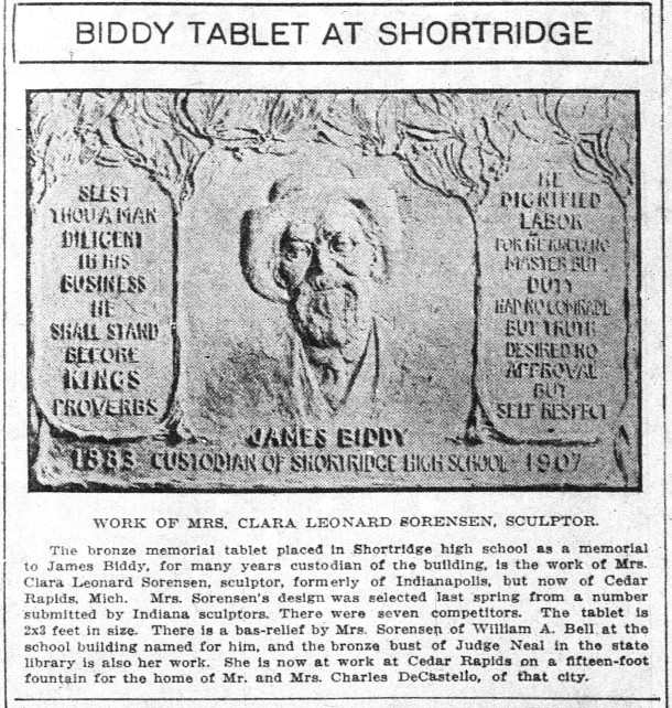 1916.10.10.Indianapolis_News_Jas.Biddy.plaque