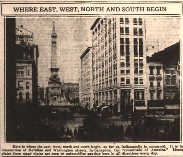 the crumbling crossroads of america historic indianapolis all