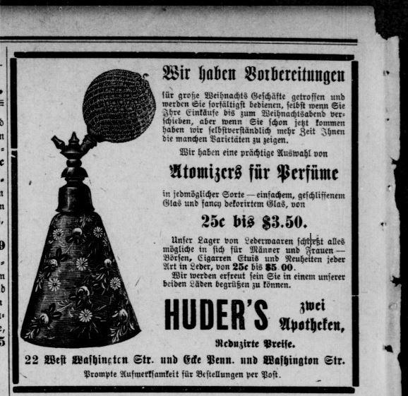 Perfume Atomizer, December 19, 1905