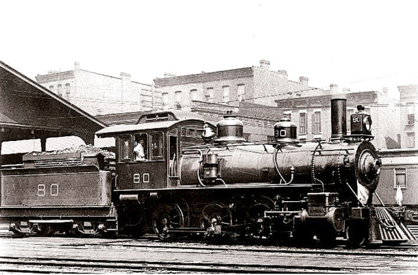 Early train on the Monon Route (image courtesy of spellerweb.net)