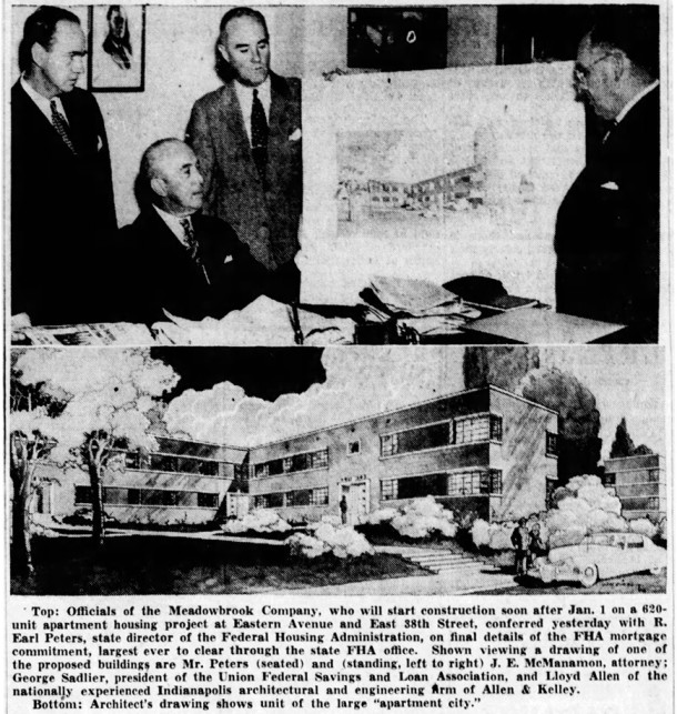 (1946 Indianapolis Star article courtesy of newspapers.com)