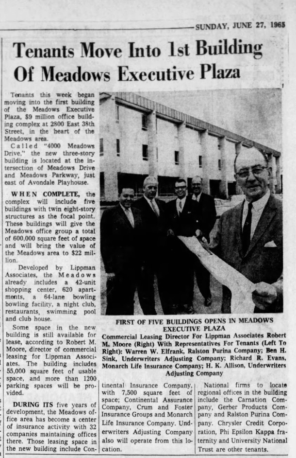 (1965 Indianapolis Star article courtesy of newspapers.com)