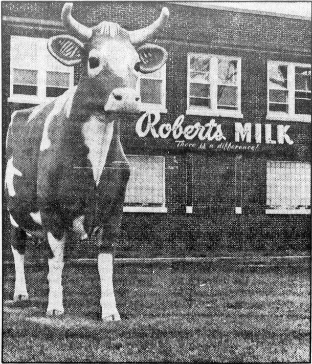 Roberts Dairy plant at 4201 Millersville Road (image courtesy of newspapers.com)