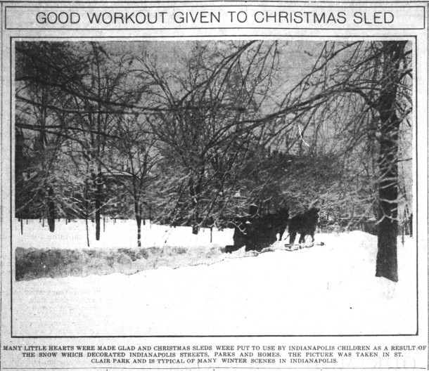 December 29, 1915 Indianapolis News clipping courtesy of newspapers.com